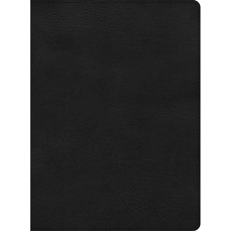 CSB Apologetics Study Bible, Black LeatherTouch