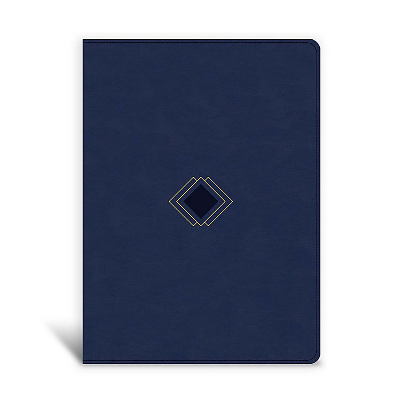 CSB Day-by-Day Chronological Bible, Navy LeatherTouch