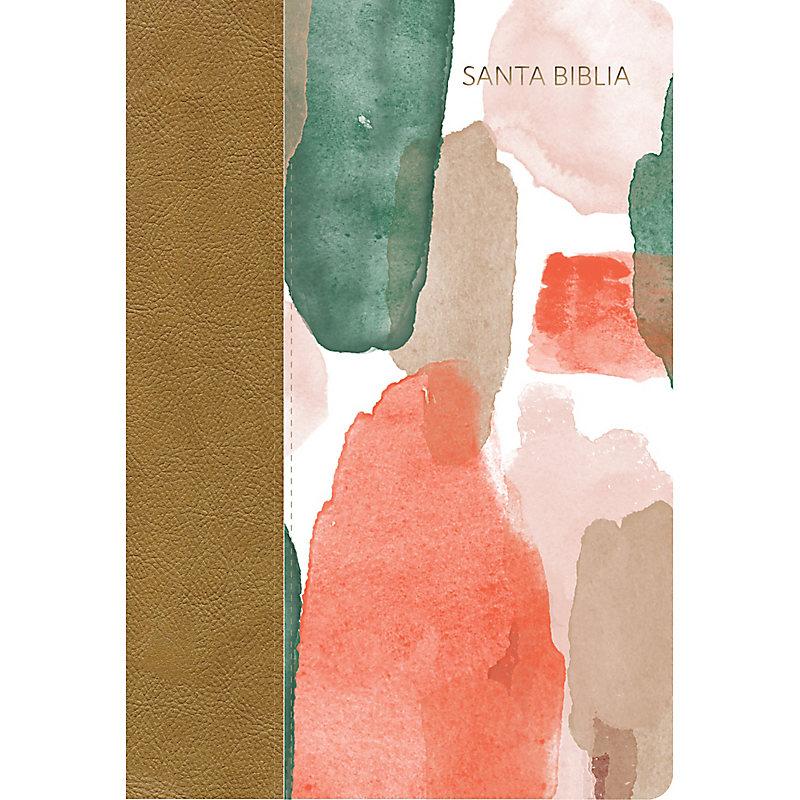 RVR 1960 Biblia Letra Grande Tamaño Manual multicolor, símil piel