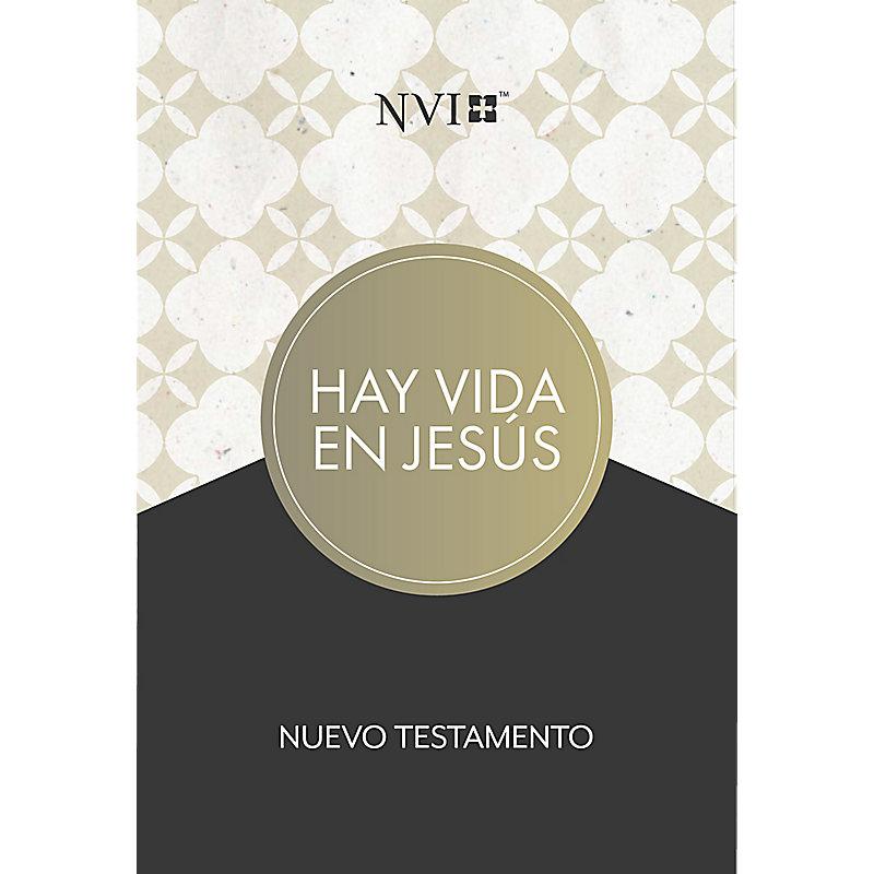 NVI Nuevo Testamento hay vida en Jesús, tapa suave