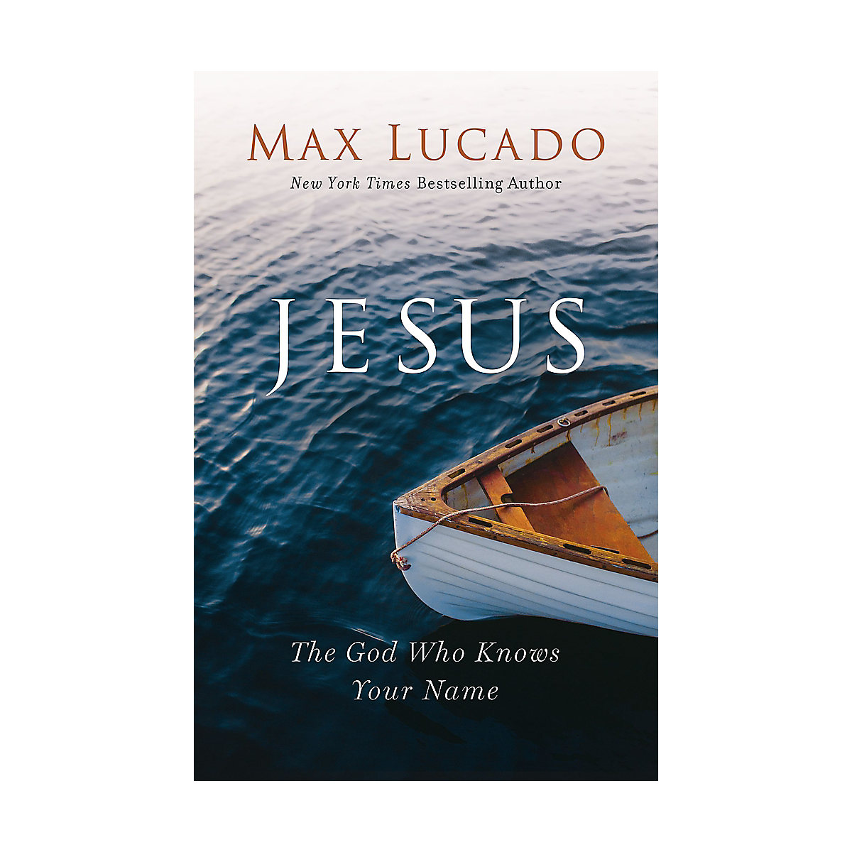 Jesus book by Max Lucado