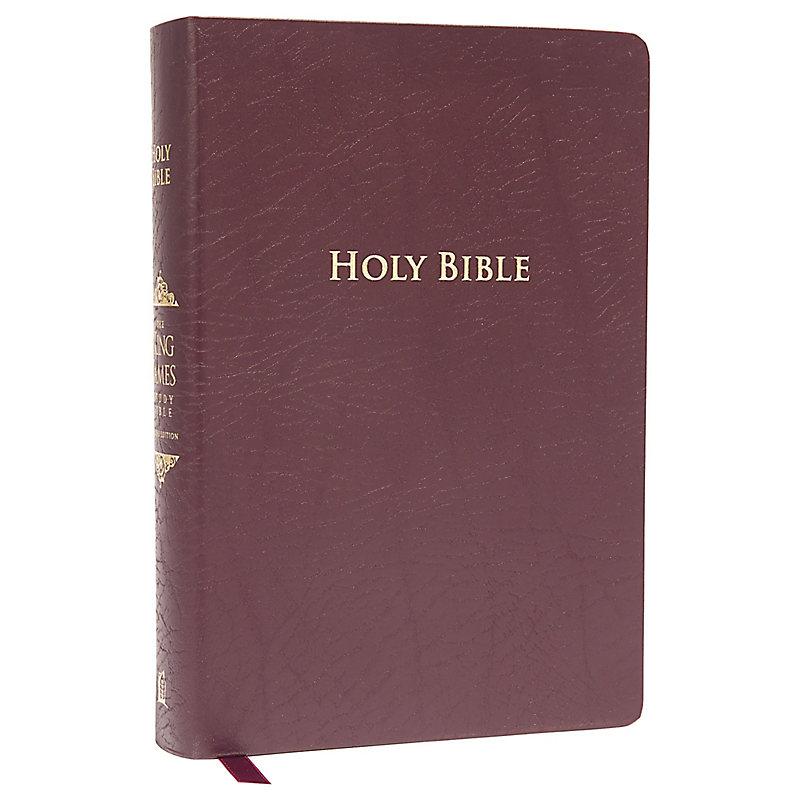 Fire Bible KJV King James Version Study Black Genuine ...