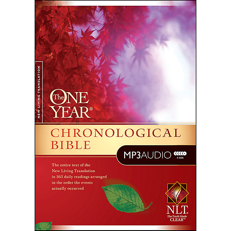 The One Year Chronological Bible NLT, MP3