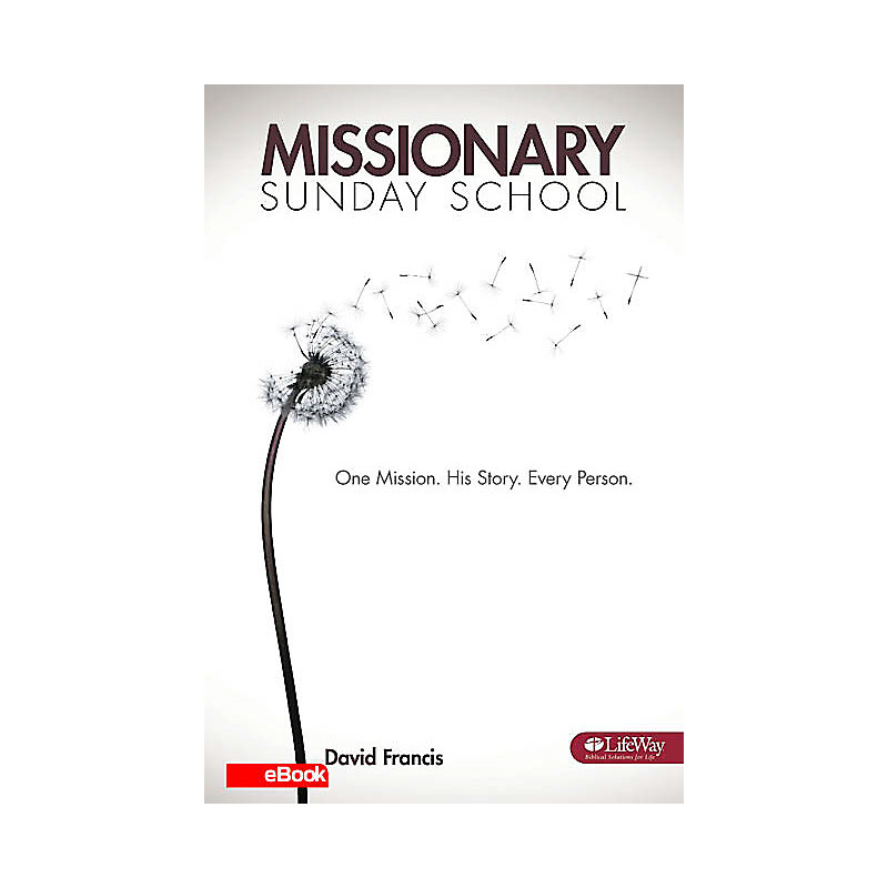 Missionary Sunday School: One Mission, His Story, Every Person Booklet - eBook
