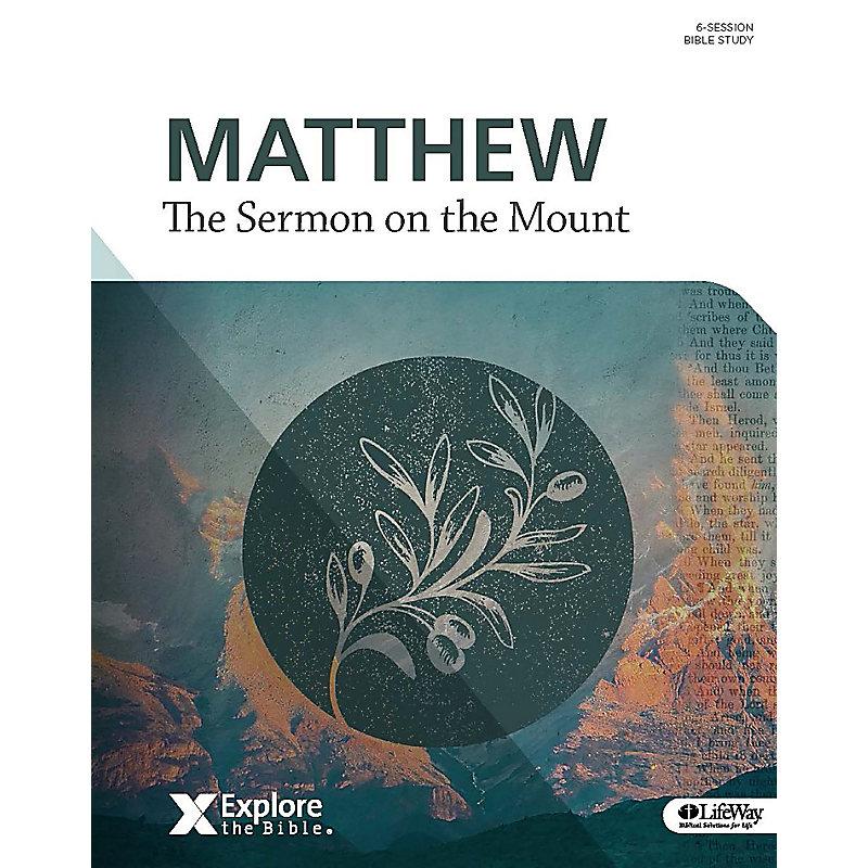 Matthew - Sermon on the Mount Bible Study Book