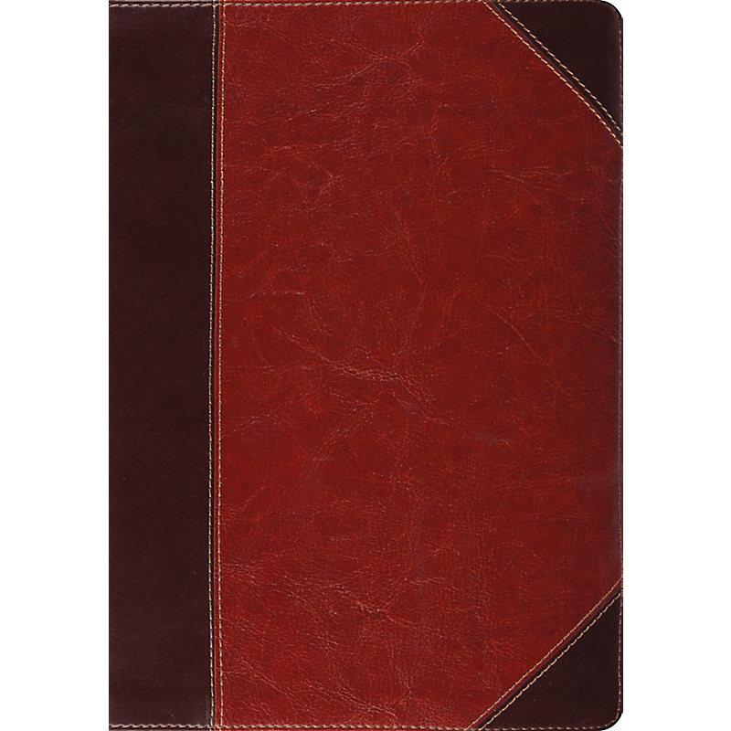 ESV Study Bible (TruTone, Brown/Cordovan, Portfolio Design)