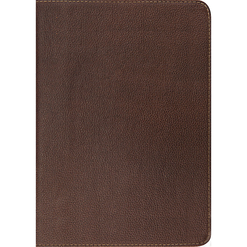 ESV Study Bible (Cowhide, Deep Brown)