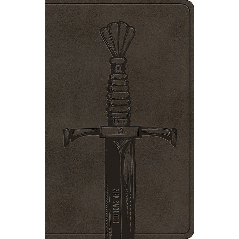ESV Vest Pocket New Testament with Psalms and Proverbs (TruTone, Silver Sword)