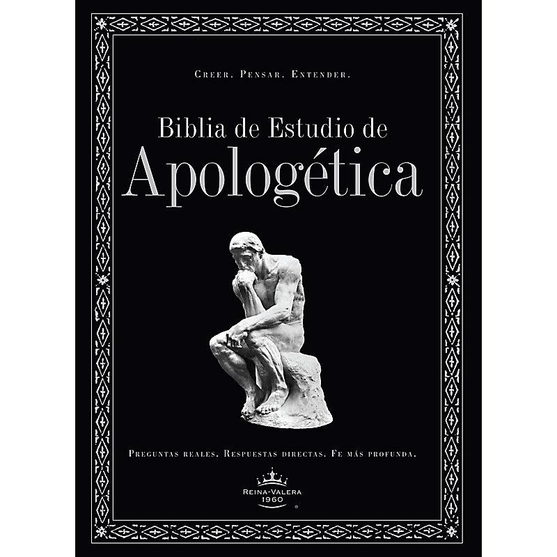 Biblia de Estudio de Apologética, tapa dura, con índice