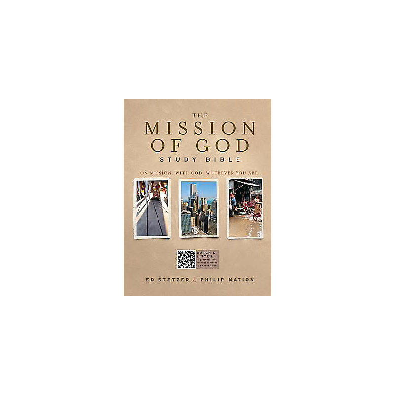 The Mission of God Study Bible, Brown Simulated Leather