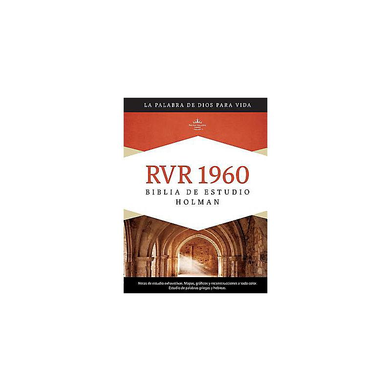 RVR 1960 Biblia de Estudio Holman, tapa dura con índice