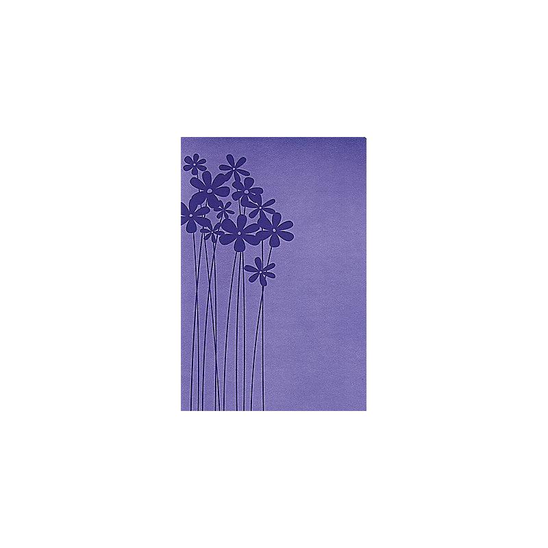 RVR 1960 Biblia Tamaño Personal, lilas en flor símil piel