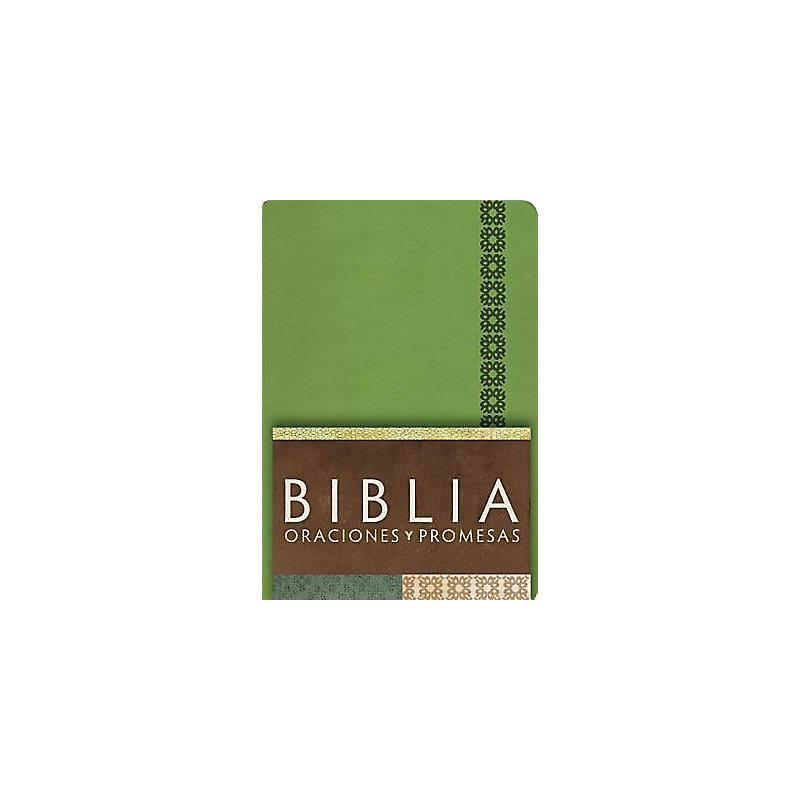 RVC Biblia Oraciones y Promesas - Verde Manzana símil piel