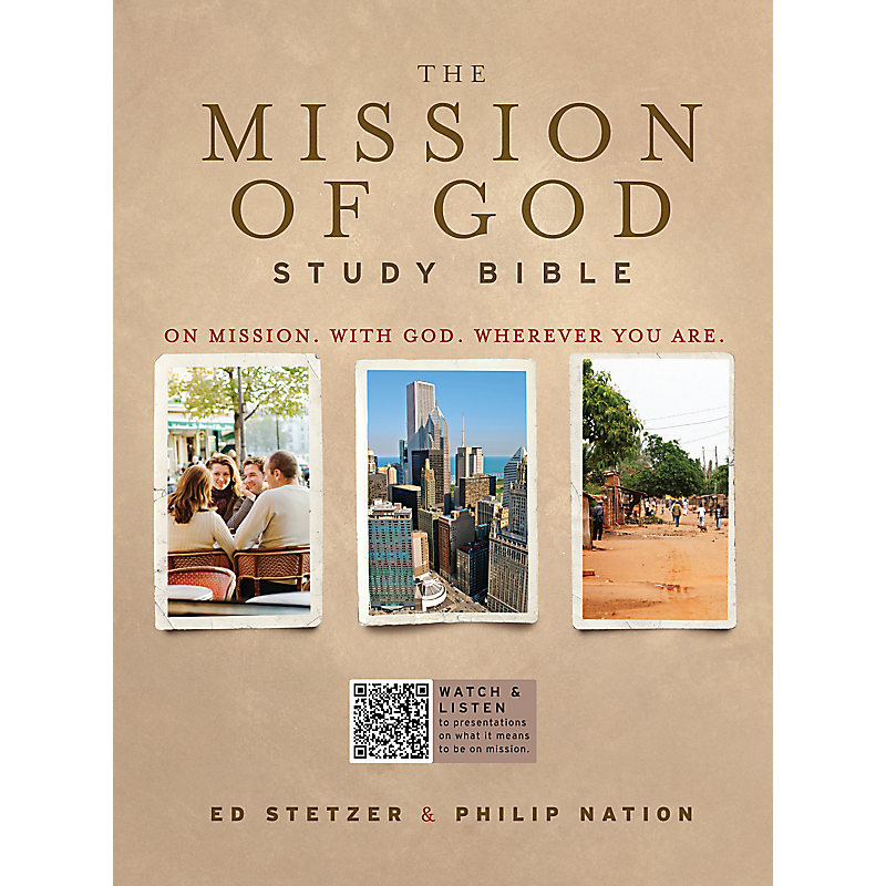 The Mission of God Study Bible