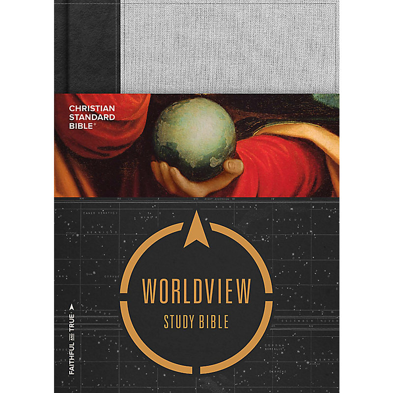 CSB Worldview Study Bible, Hardcover