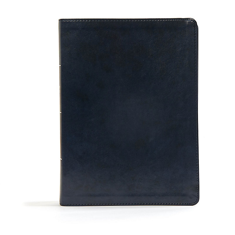 CSB Worldview Study Bible, Navy LeatherTouch