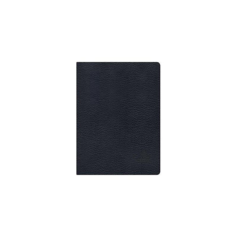 Holman Study Bible: NKJV Edition, Black Genuine Leather Indexed