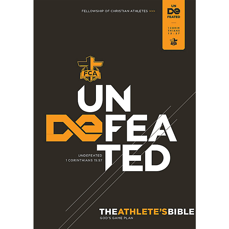 The Athlete's Bible: Undefeated Edition