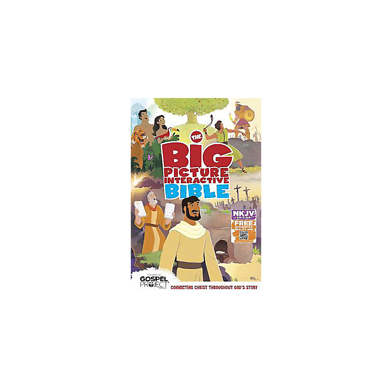 The NKJV Big Picture Interactive Bible, Hardcover