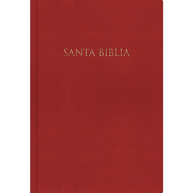 RVR 1960 Biblia para Regalos y Premios, rojo tapa dura