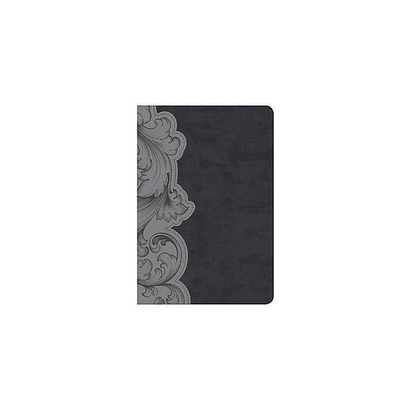 KJV Study Bible Personal Size, Smoke/Slate LeatherTouch
