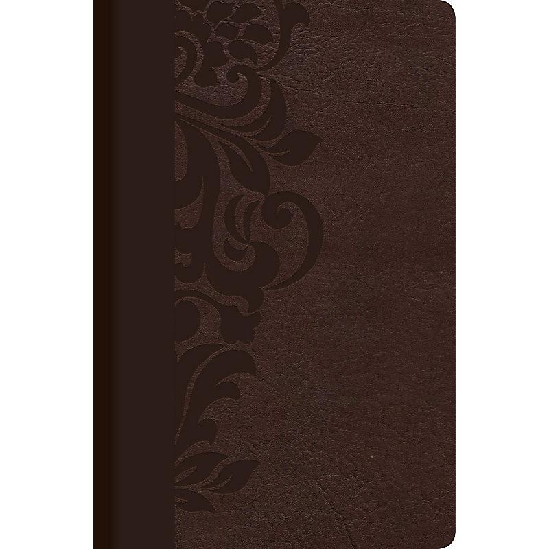 RVR 1960 Biblia de Estudio para Mujeres, café símil piel con índice