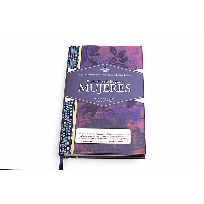 RVR 1960 Biblia de Estudio para Mujeres, tapa dura