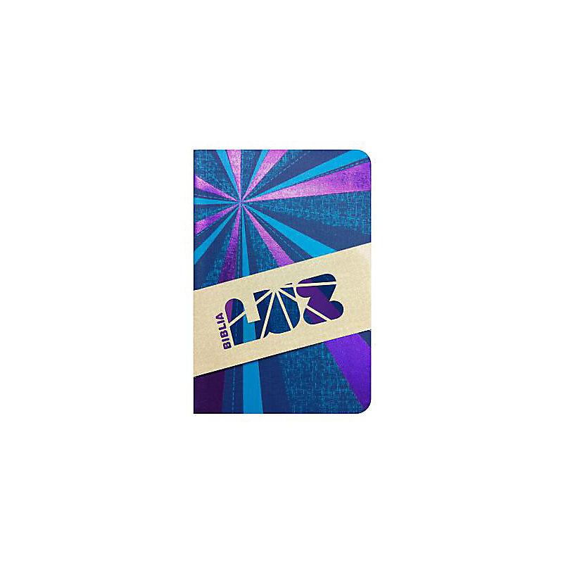 RVC Biblia Luz, rayos de azul/violeta símil piel