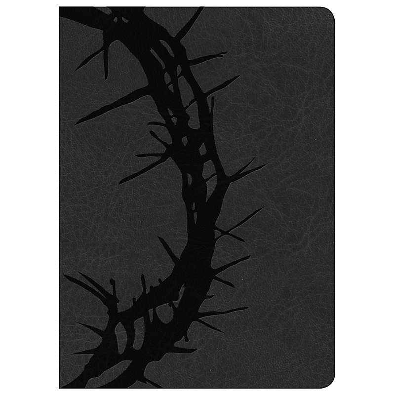 Holman Study Bible: NKJV Edition, Charcoal LeatherTouch