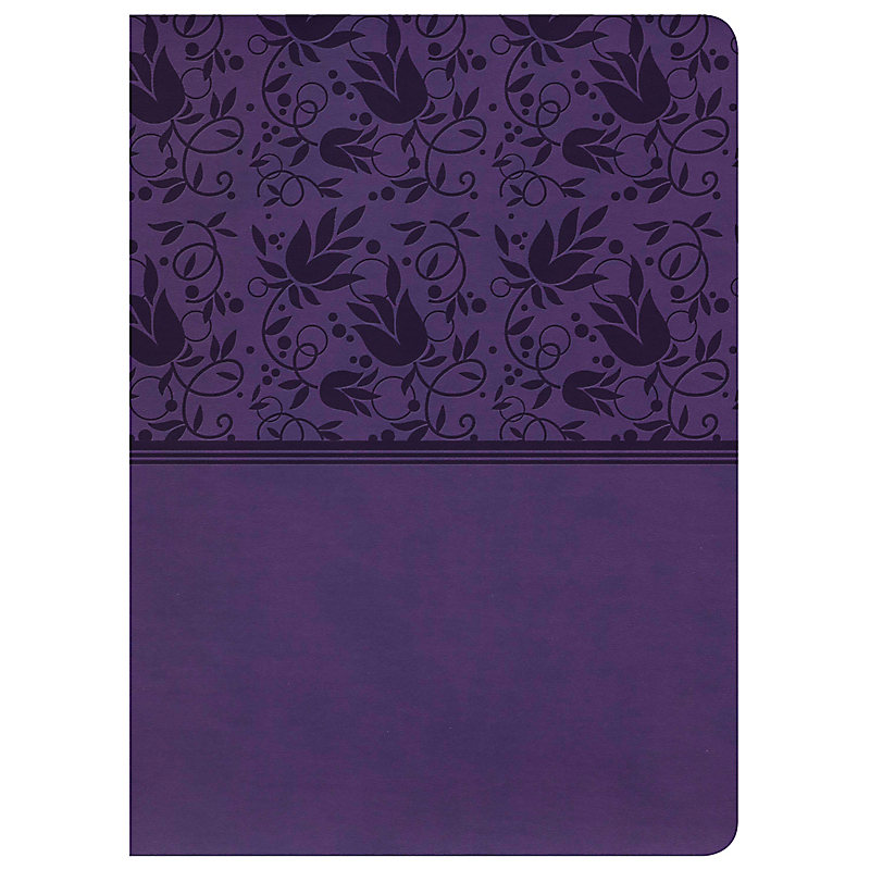 KJV Study Bible,  Purple LeatherTouch