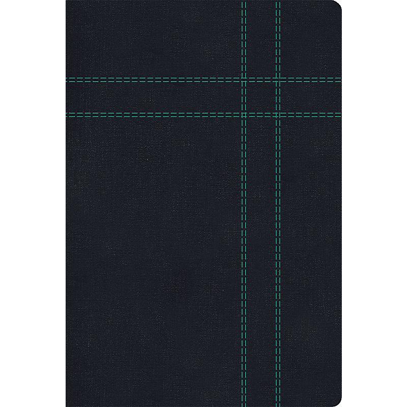 RVR 1960/KJV Biblia Bilingüe Tamaño Personal, negro imitación piel