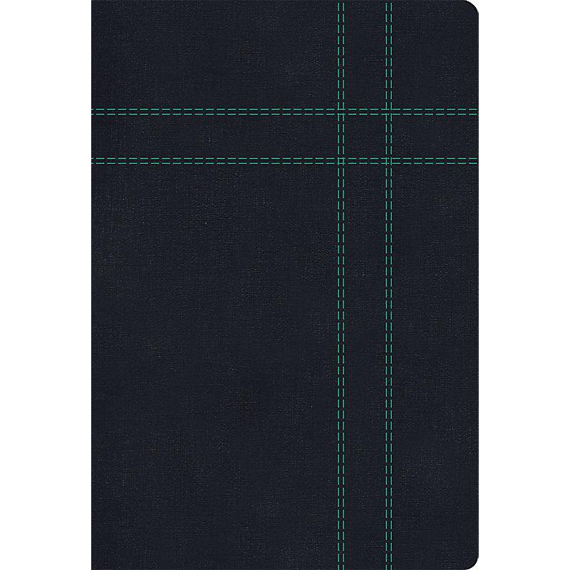 RVR 1960/KJV Biblia Bilingüe Tamaño Personal, negro imitación piel con índice
