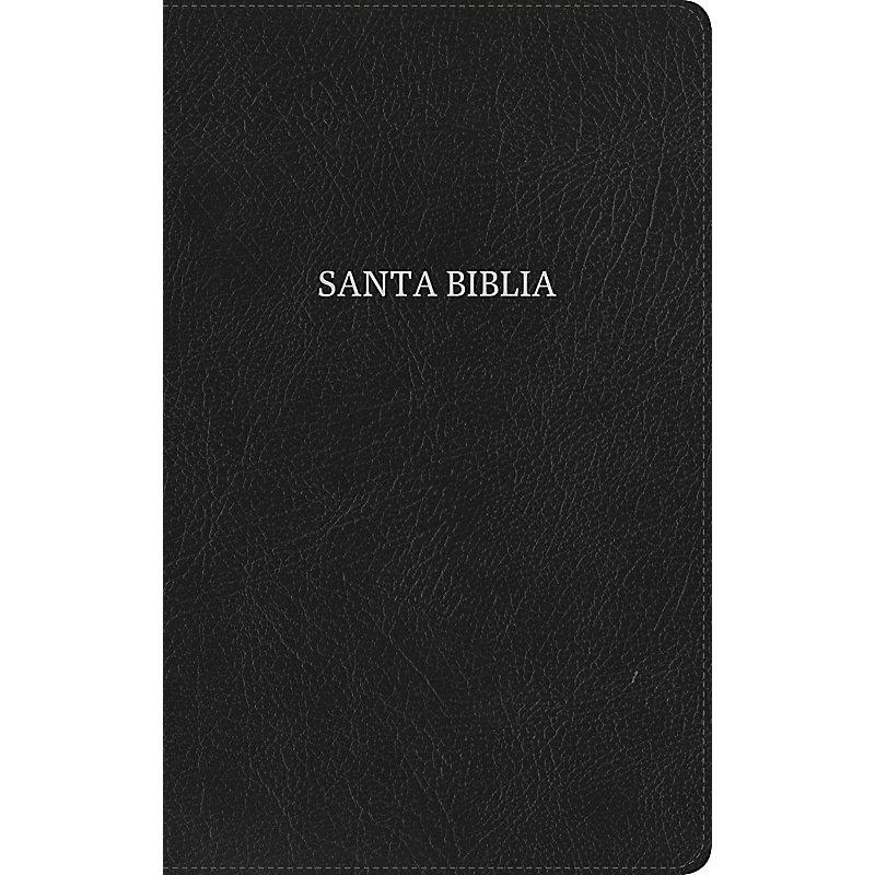 RVR 1960 Biblia Ultrafina, negro piel fabricada