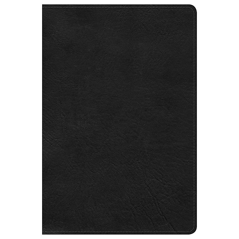 KJV Large Print Personal Size Reference Bible, Black LeatherTouch, Indexed
