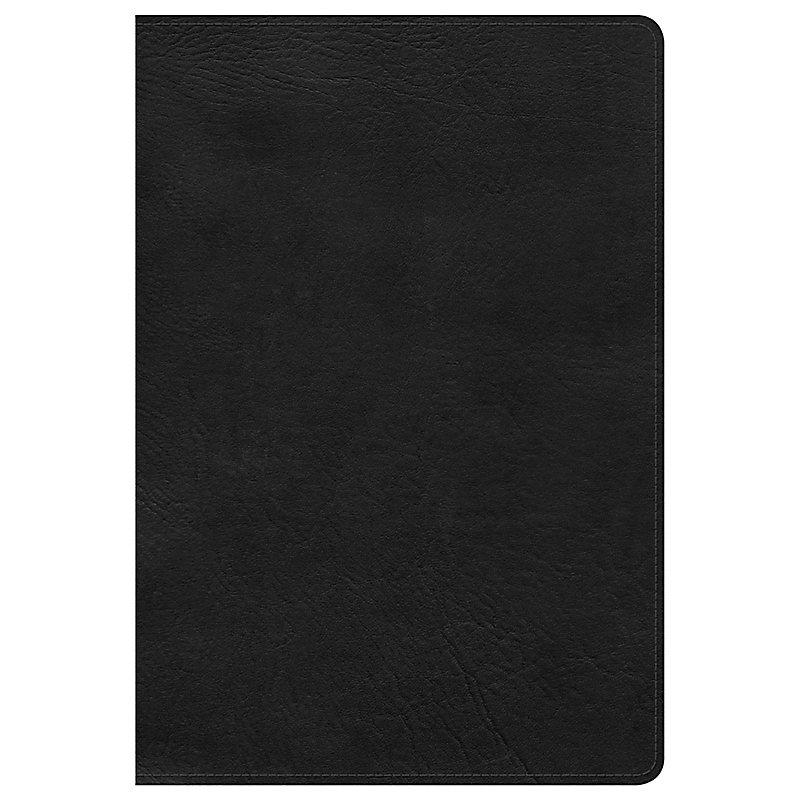 KJV Large Print Ultrathin Reference Bible, Black LeatherTouch