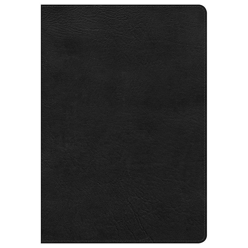KJV Super Giant Print Reference Bible, Black LeatherTouch