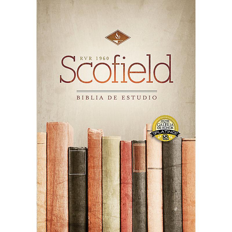 RVR 1960 Biblia de Estudio Scofield, tapa dura con índice