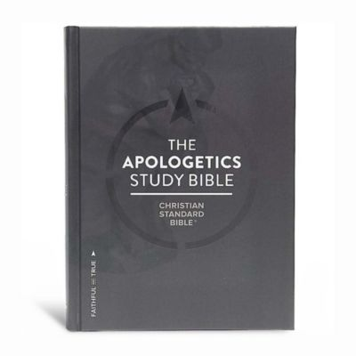 csb apologetics study bible hardcover lifeway rh lifeway com Apologetics Resource Center Christian Bible Study