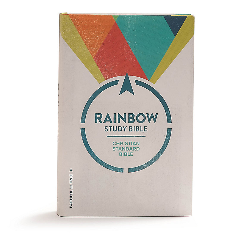 CSB Rainbow Study Bible, Hardcover