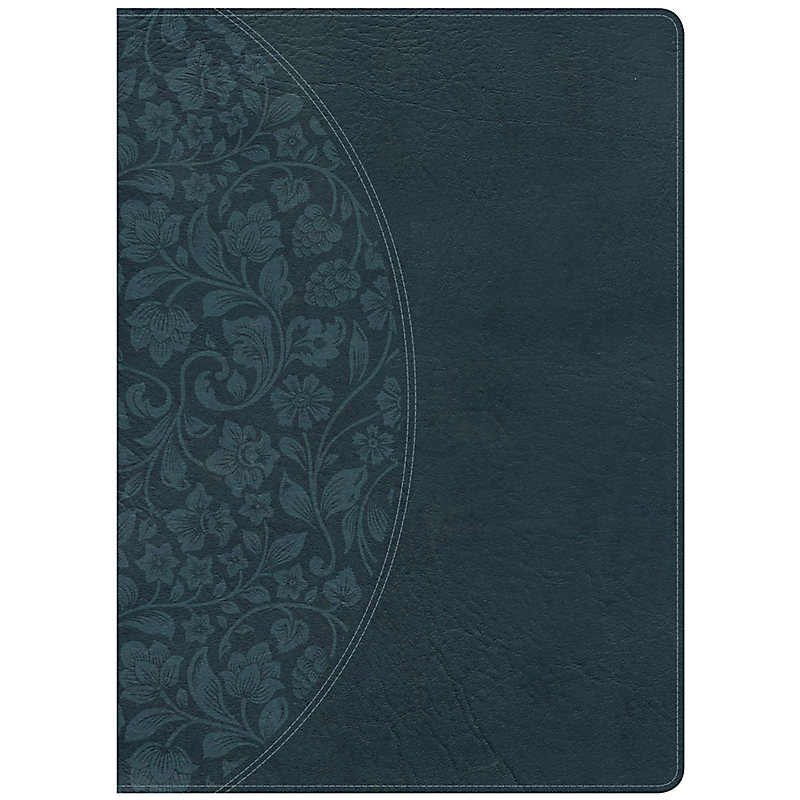 Holman Study Bible: NKJV Large Print Edition Dark Teal LeatherTouch, Indexed
