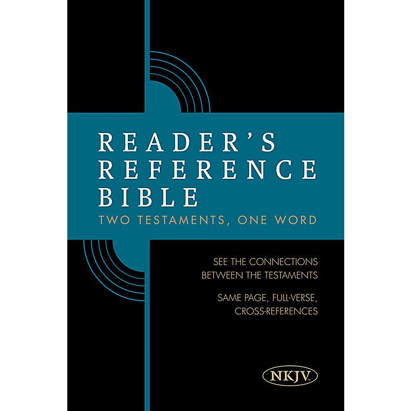 Reader's Reference Bible: NKJV Edition, Hardcover