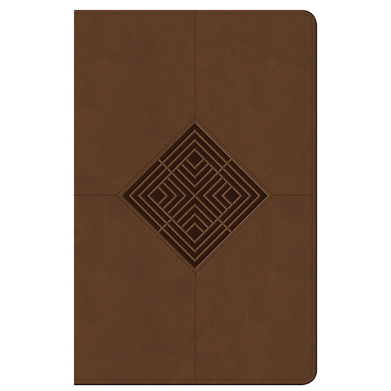 Reader's Reference Bible: NKJV Edition, Brown Leathertouch, Indexed
