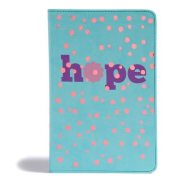CSB Kids Bible Hope LeatherTouch
