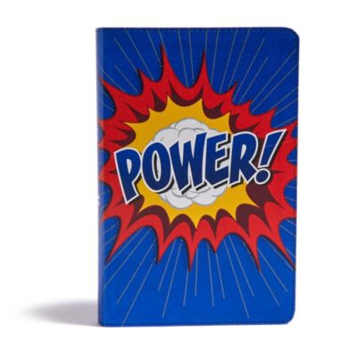 CSB Kids Bible Power LeatherTouch