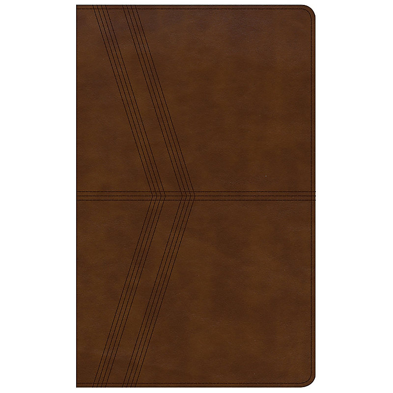 NKJV Ultrathin Reference Bible, Brown Deluxe LeatherTouch, Indexed