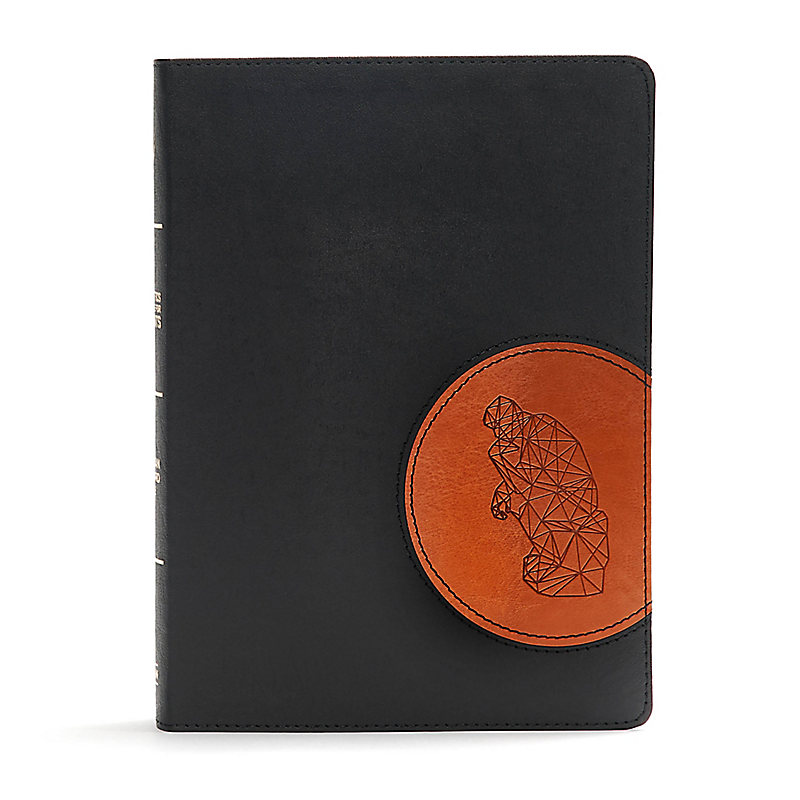 CSB Apologetics Study Bible for Students, Black/Tan LeatherTouch, Indexed