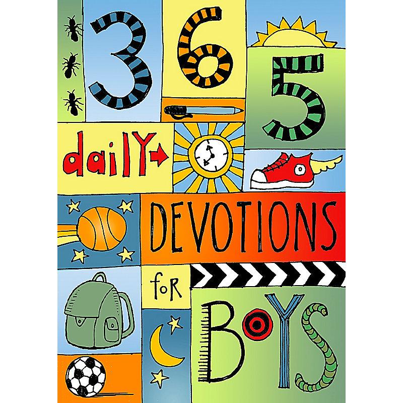 365 Devotions for Boys