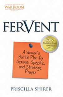 Fervent Book by Priscilla Shirer