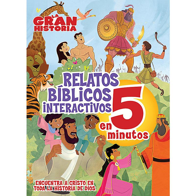 La Gran Historia, Relatos Bíblicos en 5 minutos, tapa dura