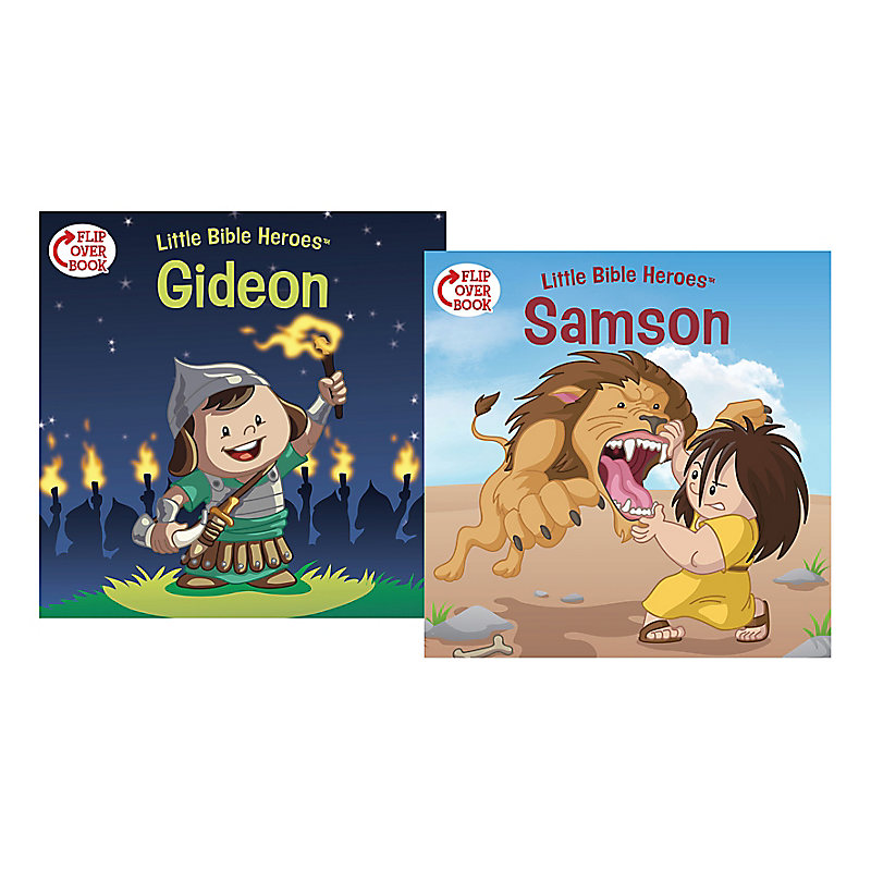 Samson/Gideon Flip-Over Book